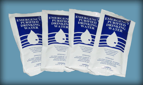 Emergency Purified Drinking Water