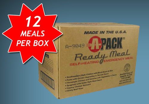 Survivormate MRE - Meals Ready to Eat A-Pack Ready Meal