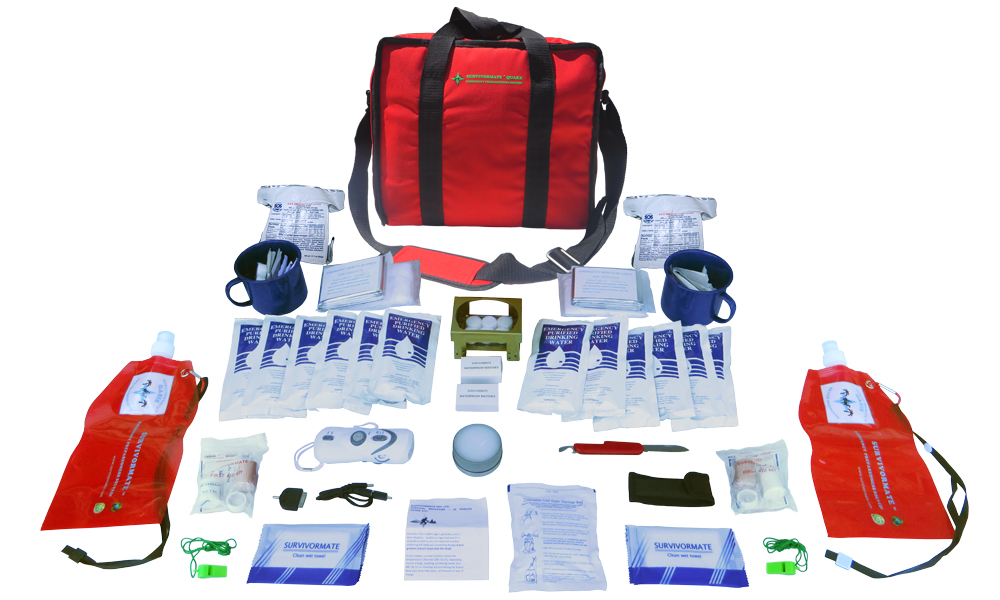 Survivormate Quake 3-Day Emergency Kit